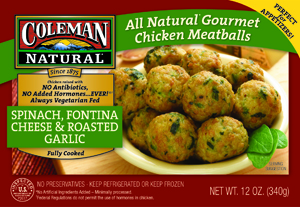 New in the market coleman s all natural chicken meatballs for Coleman s fish market